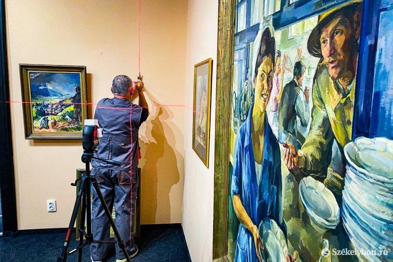 Nagy Imre műveiből nyílik kiállítás Marosvásárhelyen