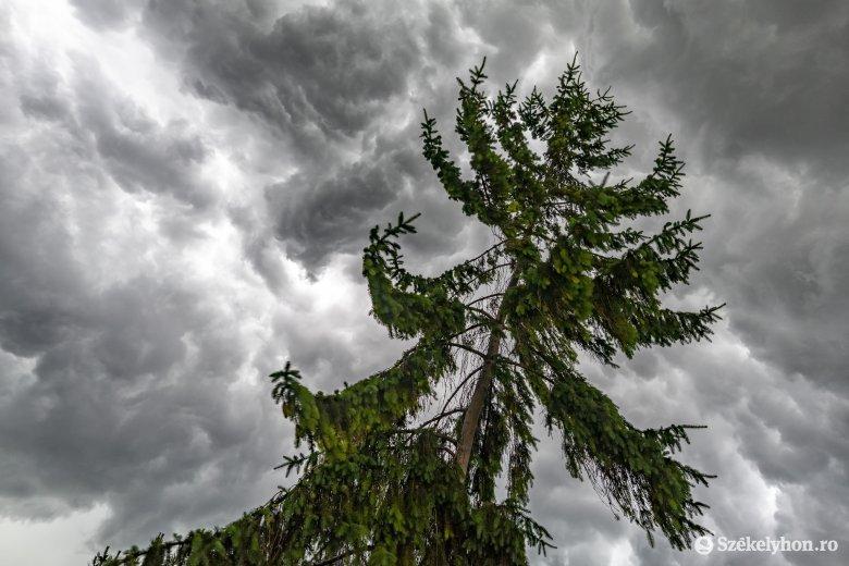 Újabb viharriasztást adtak ki, Hargita és Kovászna megye is érintett