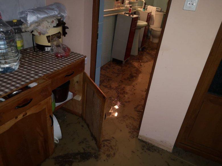 Száz háztartásba folyt be a víz Erdőszentgyörgyön