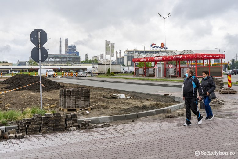 Felszámolnák a forgalmi dugót Marosvásárhely Kolozsvár felőli bejáratánál