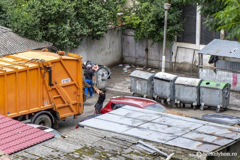 A járványhelyzet ellenére sem csökkent a vegyes hulladék mennyisége Háromszéken