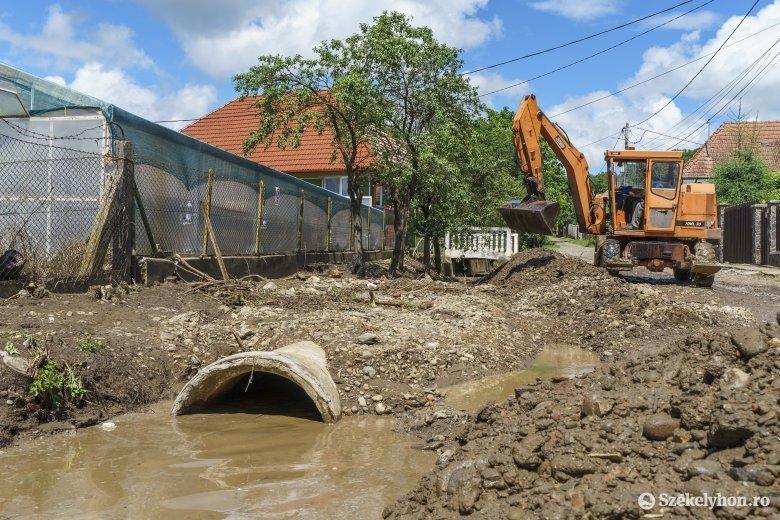 Egy híján az összes, áradások által sújtott Hargita megyei település kap állami segítséget