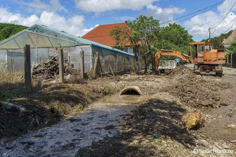 Felmérték a június végi, július eleji áradáskárok értékét