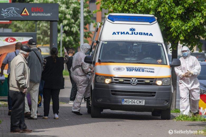 Öt új fertőzött Maros megyében