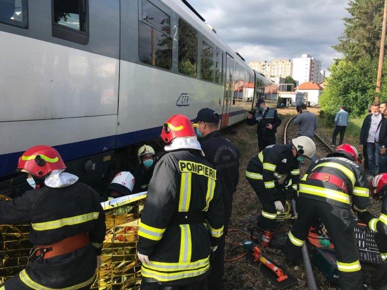 Halálra gázolt egy nőt a vonat Marosvásárhelyen