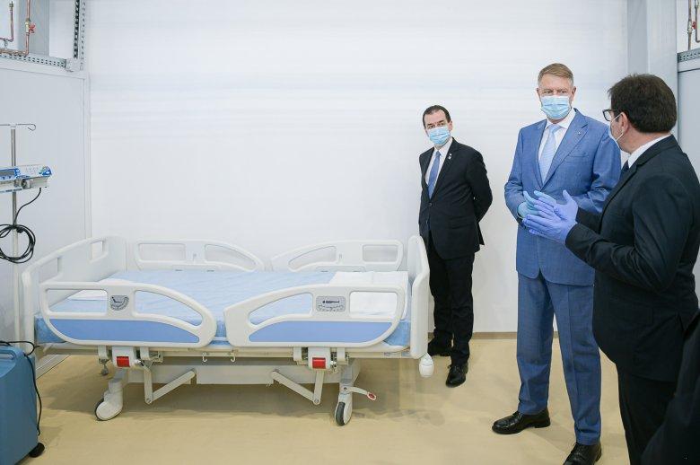Még nem kellett használni a 16 millió lejből kialakított ideiglenes kórházat
