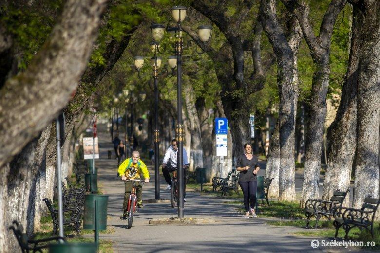 Másfél kilométeres kerékpárutat alakítanak ki Marosvásárhelyen