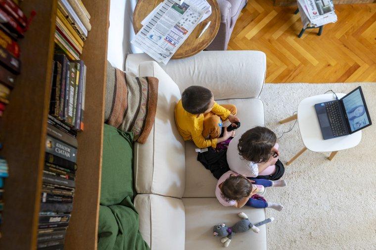Hiányzik az óvoda az online oktatásban résztvevő kicsiknek