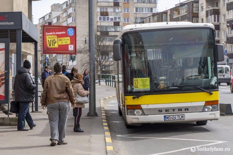 Változik az autóbuszok menetrendje Marosvásárhelyen