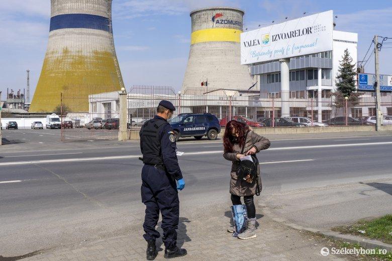 1300 személyt igazoltattak, 170 ezer lejnyi pénzbírságot róttak ki Maros megyében