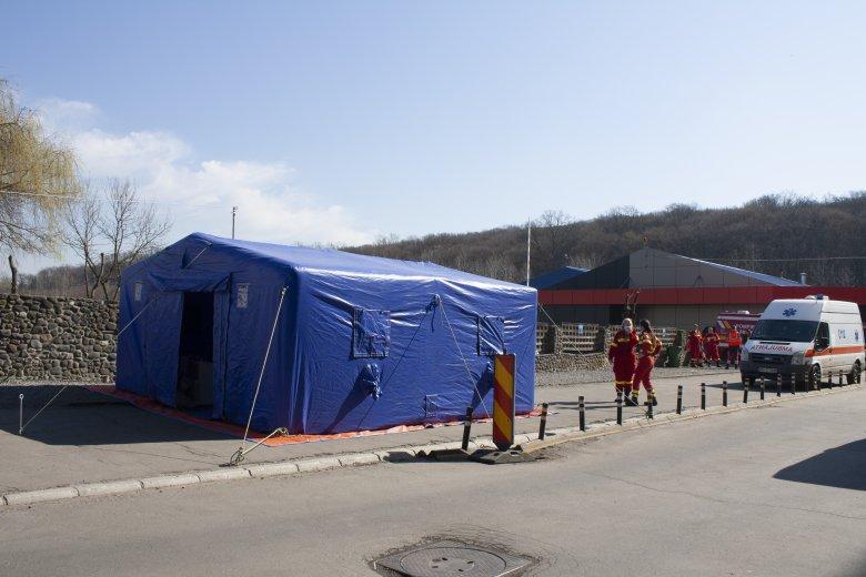 Szigorú járványmegelőzési szabályok léptek érvénybe a Maros Megyei Klinikai Kórházban