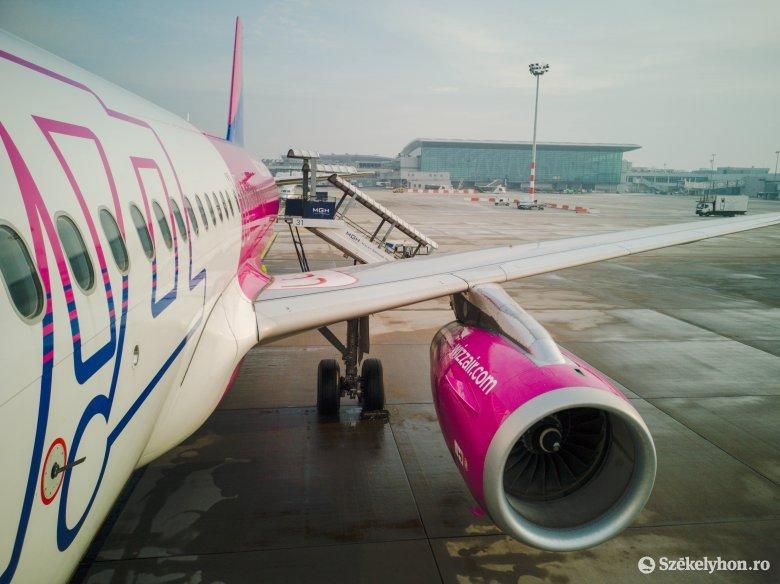 Két, Marosvásárhelyről közlekedő repülőjáratot függesztett fel a WizzAir
