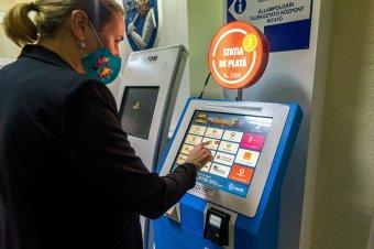 Már fizetőállomásokon is lehet adót törleszteni Marosvásárhelyen