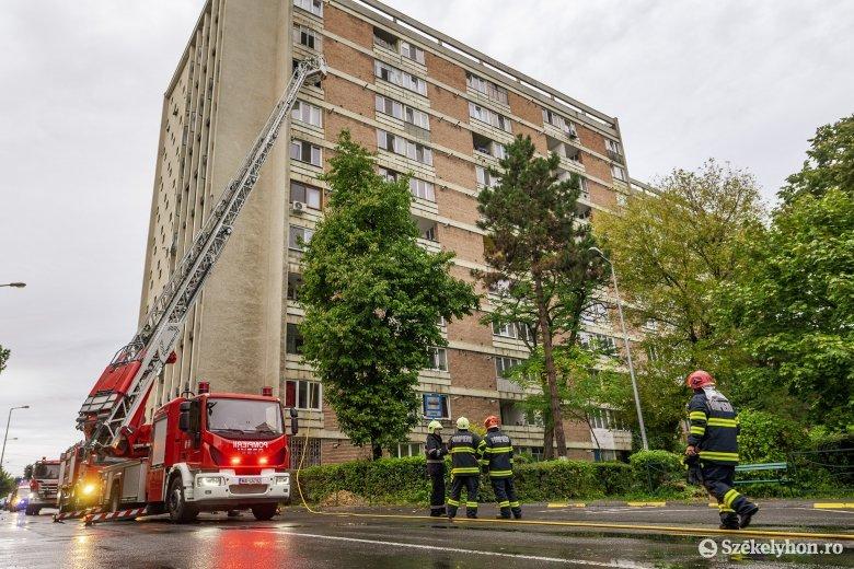 Elszenesedett állapotban találtak rá a lakástűzben életét vesztett férfira