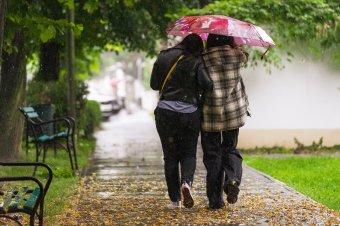 Esős napok következnek