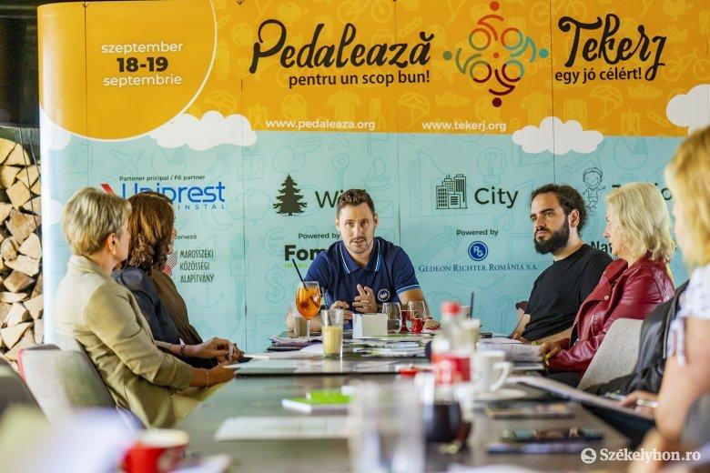 Jótékonysági kerékpáros rendezvényre készülnek Marosvásárhelyen