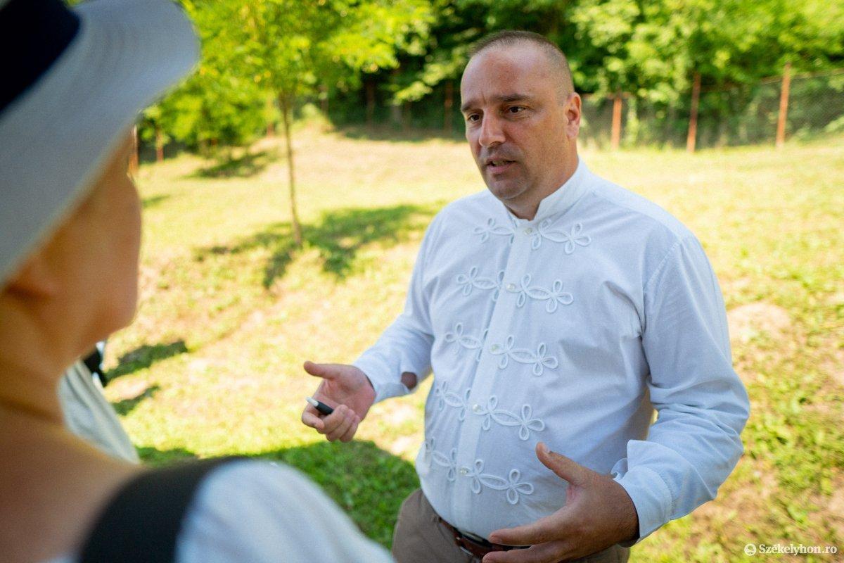 Csibi Attila polgármester •  Fotó: Rab Zoltán