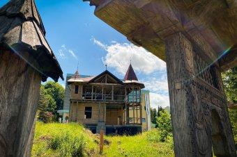 Eredeti formájában épül vissza Bernády György egykori szovátai nyaralója