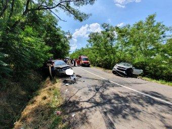 Két gyerek is megsérült az autóbalesetben