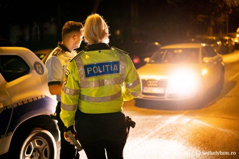 Éjszakai razzia közel kéttucatnyi büntetéssel