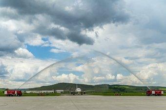 Újabb légitársaság indított járatot Marosvásárhelyről