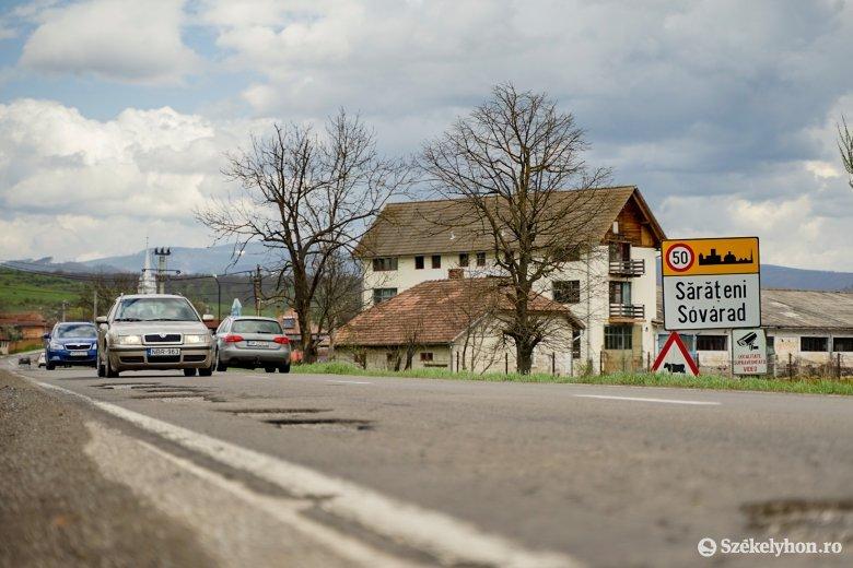 Várhatóan jövő héttől kezdik javítani a 13A jelzésű országút Maros megyei szakaszát