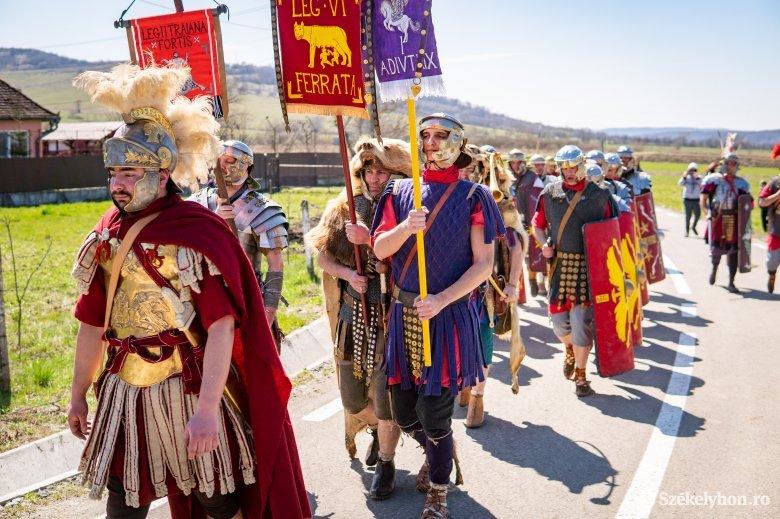 Tavaszköszöntő római napot tartottak Mikházán
