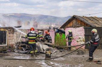 Tűz ütött ki a marosvásárhelyi Hidegvölgyben