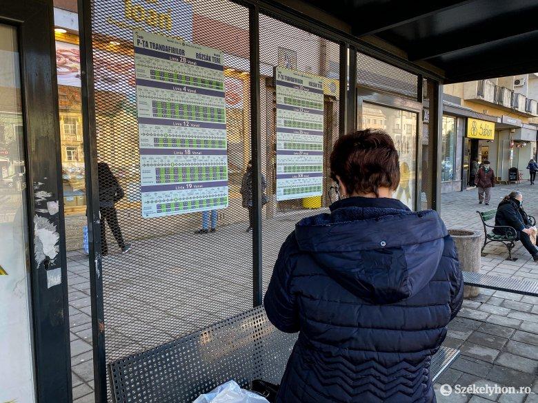 Tömegközlekedés Marosvásárhelyen: megnéztük, hogy milyen az új utastájékoztató