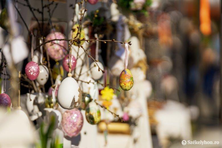 Húsvétra hangolódtak a marosvásárhelyi várban