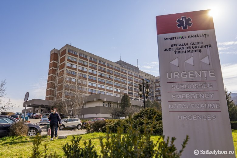 Több egészségügyi alkalmazott fertőződött meg a marosvásárhelyi klinikai kórházban