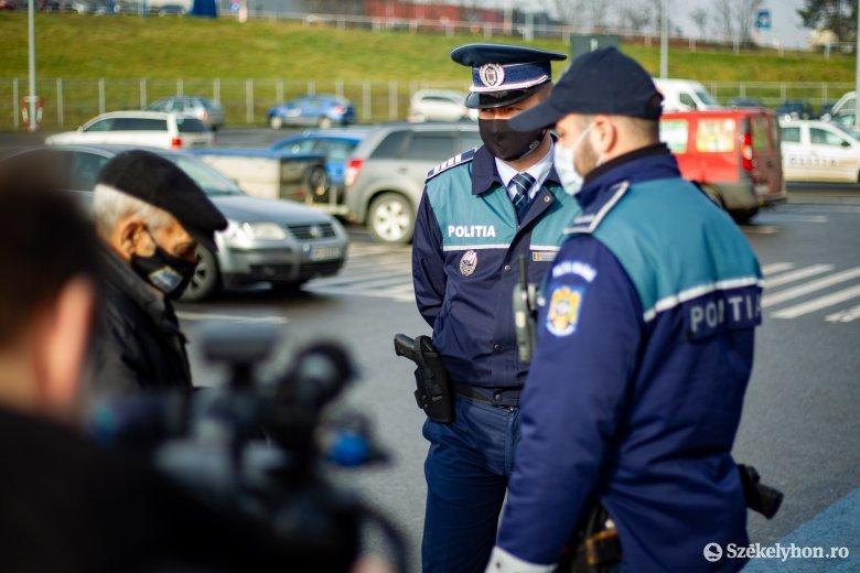 Közel százötven bírságot róttak ki egy nap alatt a rendőrök