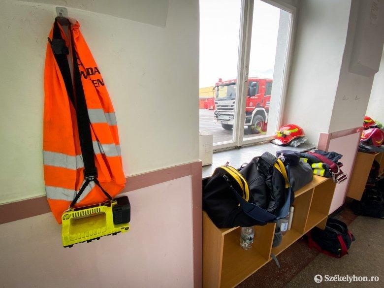 Nem sokat pihentek az elmúlt 48 órában a Hargita megyei tűzoltók