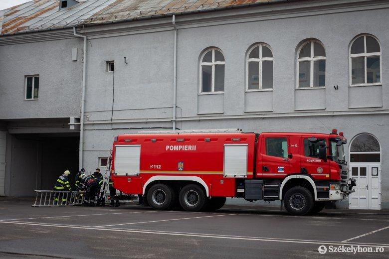 Robbanásveszély kizárva – a tűzoltóság leellenőrizte a fertőző osztály oxigénállomásait
