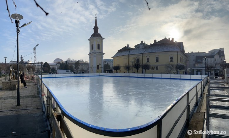 Megnyit a második korcsolyapálya is Marosvásárhelyen