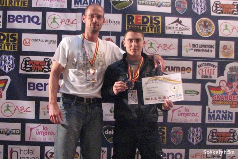 Daniel Valea második lett az országos szkander-bajnokságon
